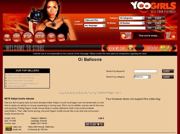 Balloons Oi Free Premium Account