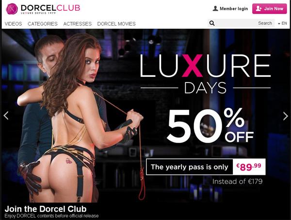 Dorcelclub.com Discount Pw