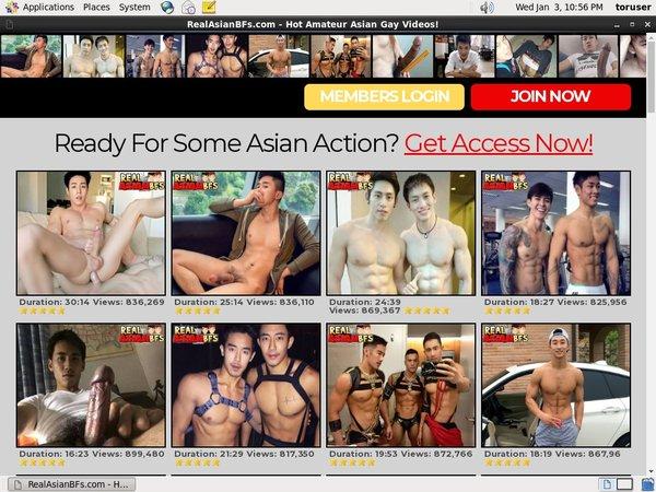 Real Asian BFs Accounts