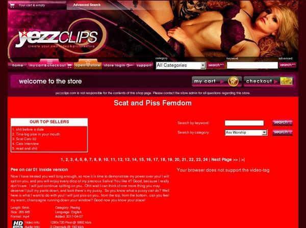 ScatAndPissFemdom Sites