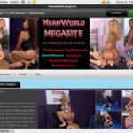 Mean World MegaSite Account Password
