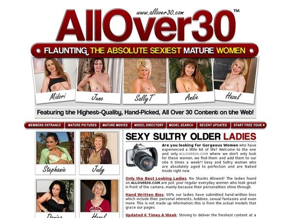 All Over 30 Original Special Offer
