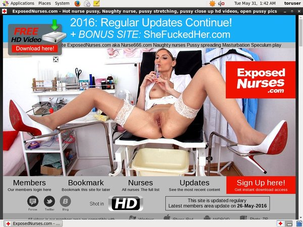 Exposednurses.com Limited Promotion