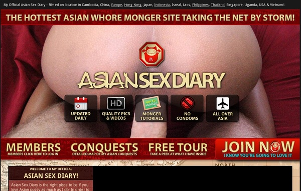 Trial Asian Sex Diary