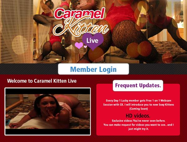 Caramelkittenlive.com Free Com