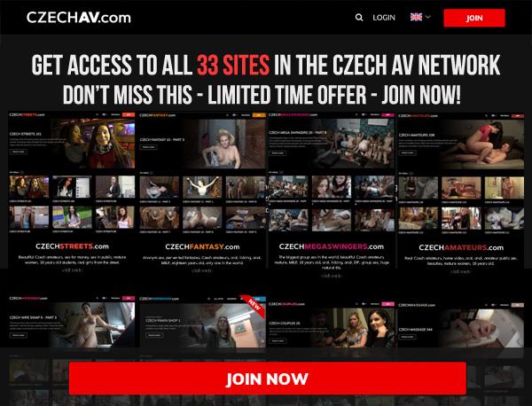 Czech AV Login Info