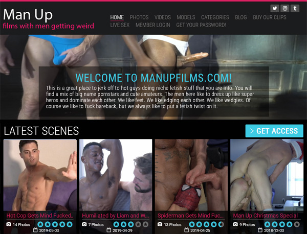 Try Man Up Films For Free