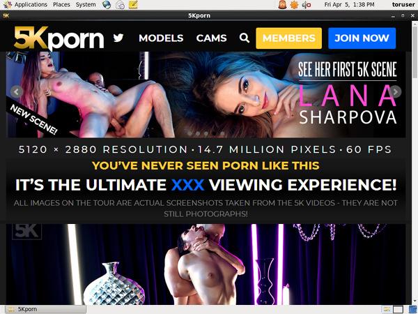 5kporn.com Free Trial Password