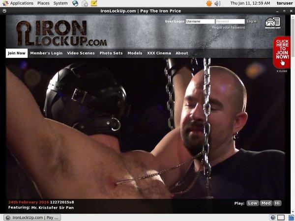 Free Iron Lock Up Codes