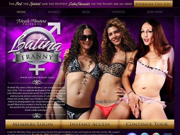 Latinatranny Trial Membership Offer